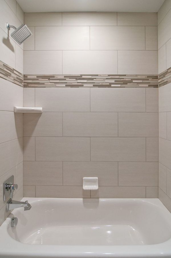 Ceramic tiles in the bathroom